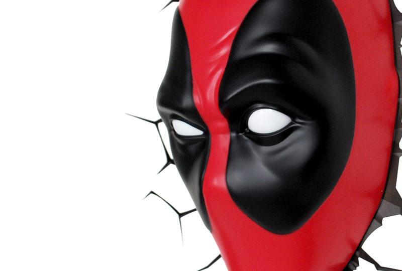 Deadpool Mask Light 3dlightfx