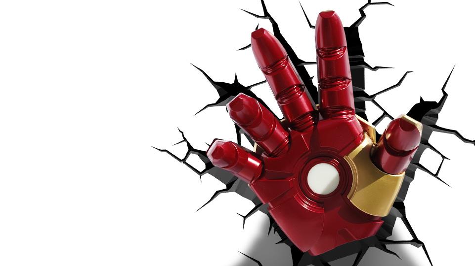Iron Man Hand Light 3dlightfx