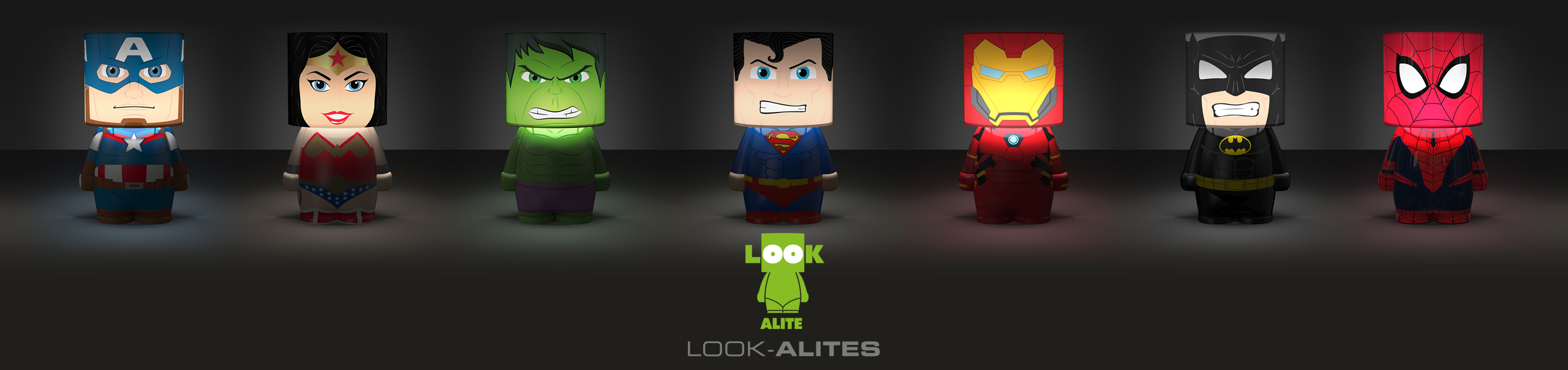 Look Alite Lamps Banner