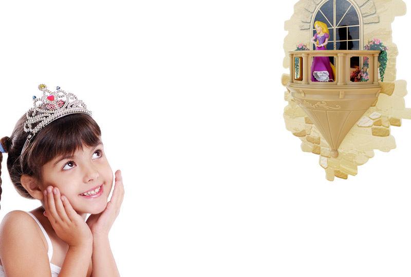 Princess Rapunzel Light 3dlightfx