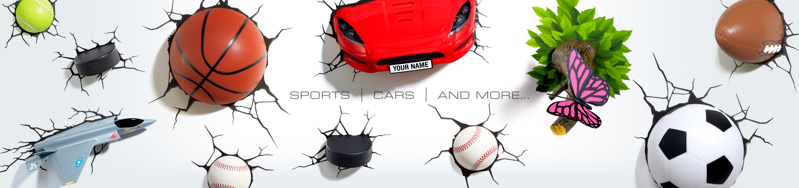 Sports / Cars + More Banner